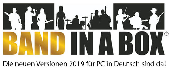 Band in a Box 2019 in deutsch