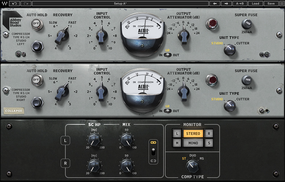 Abbey Road RS124 Compressor
