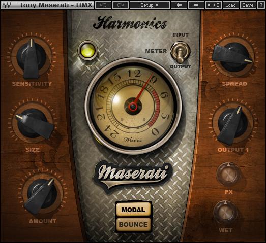 Waves Maserati HMX Harmonics Generator