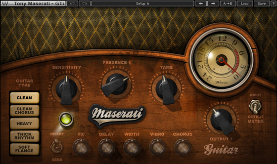 Waves Maserati Guitar Toner