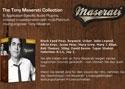 Toni Maserati Signature Series