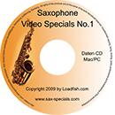 Saxophone Video Specials No.1 (Lieferung auf CD-DE)