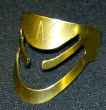 aLaska Pik (Messing) Größe M