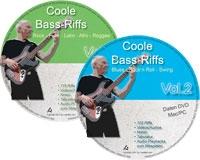 Coole Bass-Riffs Vol. 1 + 2 (DVD)