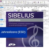 Sibelius Ultimate Jahreslizenz - Download