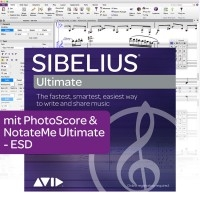 Sibelius Ultimate Dauerliz. + PhotoScore & NotateMe Ultimate - Download