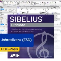 Sibelius Ultimate EDU Jahreslizenz - Download