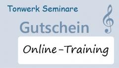 Gutscheinkarte über 1 Stunde Zeitguthaben (60 Min. Online Training / Support)
